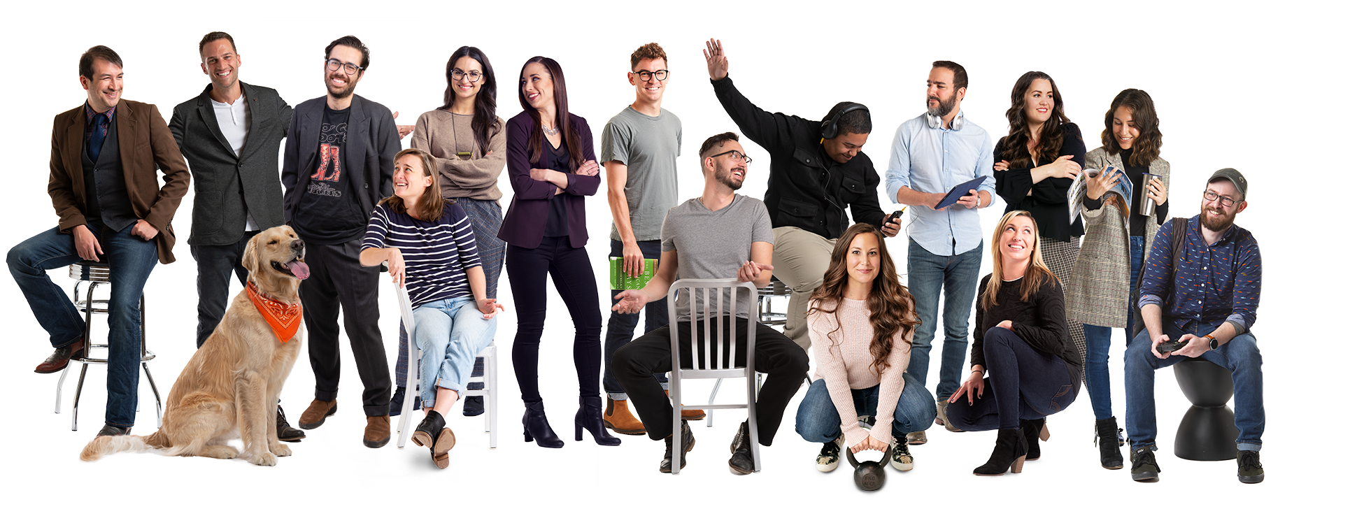 Team of Branding, Marketing, and Web Design Experts