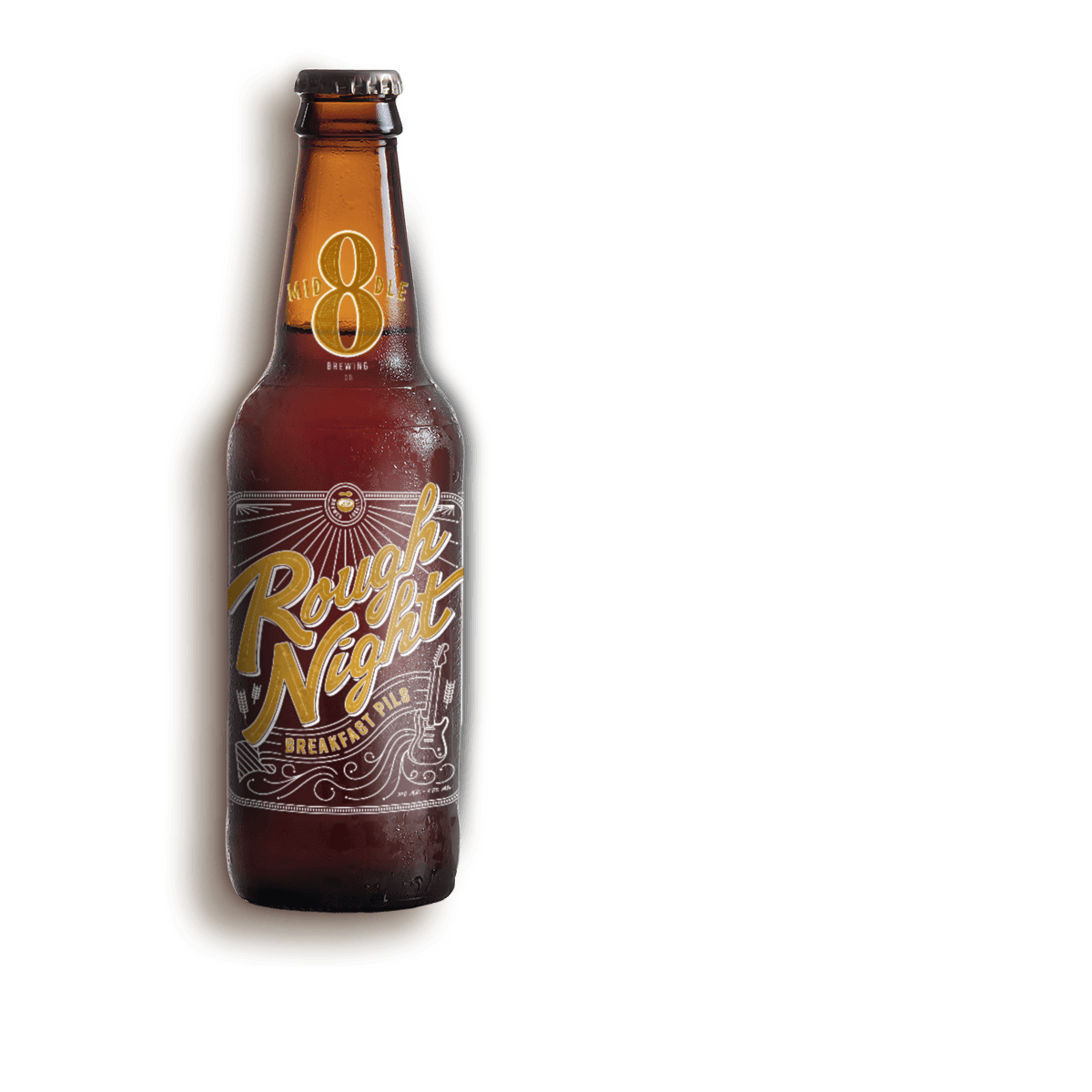 Branding and package design for microbrew
