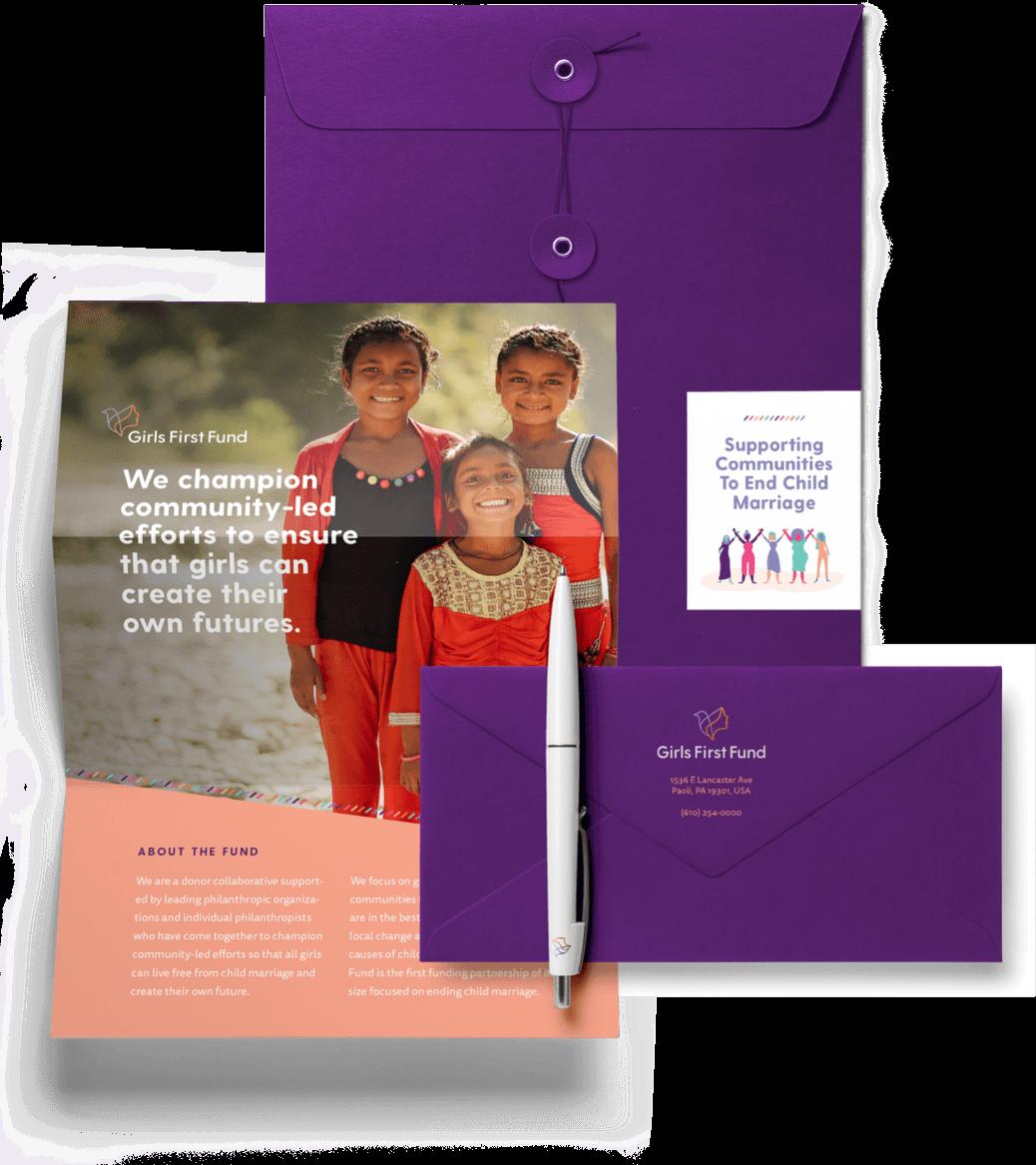 Branding for Girls First Fund