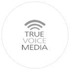 True Voice Media Brand Logo