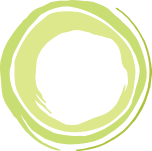 Lime green double circle outline sketch Branding Collateral Icon for BoardEffect