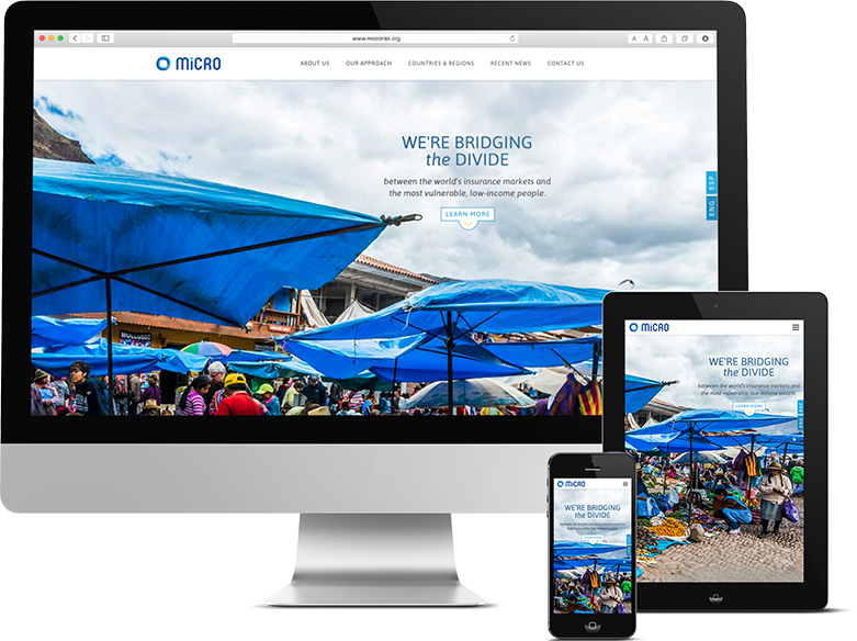 Responsive WordPress Website for Philly Insurance Firm