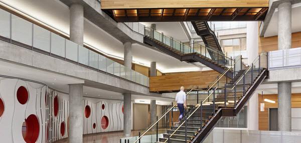 Interior or Austin Public Library