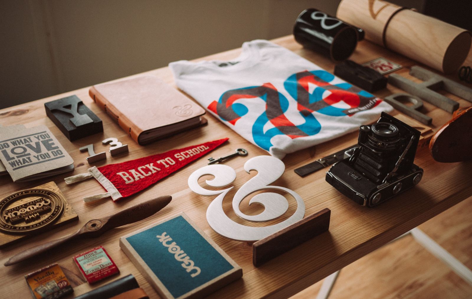 Importance of Brand Strategy shown on Branded Marketing Collateral