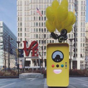 snapbot, snapchat, spectacles, dilworth park, philadelphia snapbot