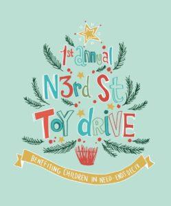 Toy drive poster design, push10, good deeds