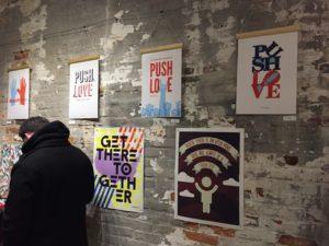 Push Love, Design2Unite, Philadelphia Art Gallery, pushlove, push10 digital agency, push10 design, aiga philadelphia