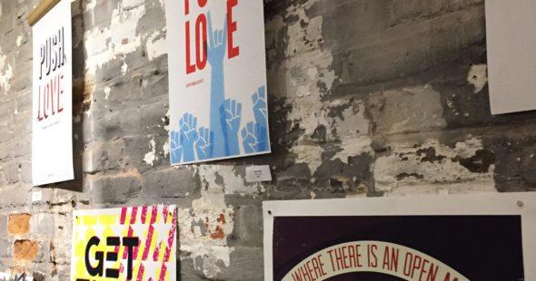 pushlove, push love, #pushlove, design2unite, patriotic, print and design, push10, philadelphia graphic design, aiga philadelphia
