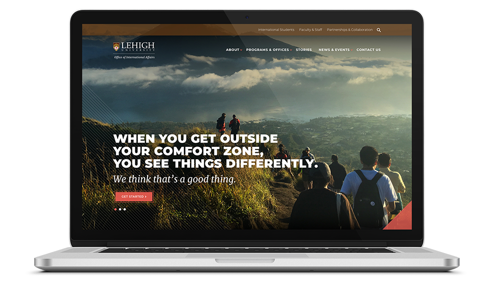 Web design for higher education