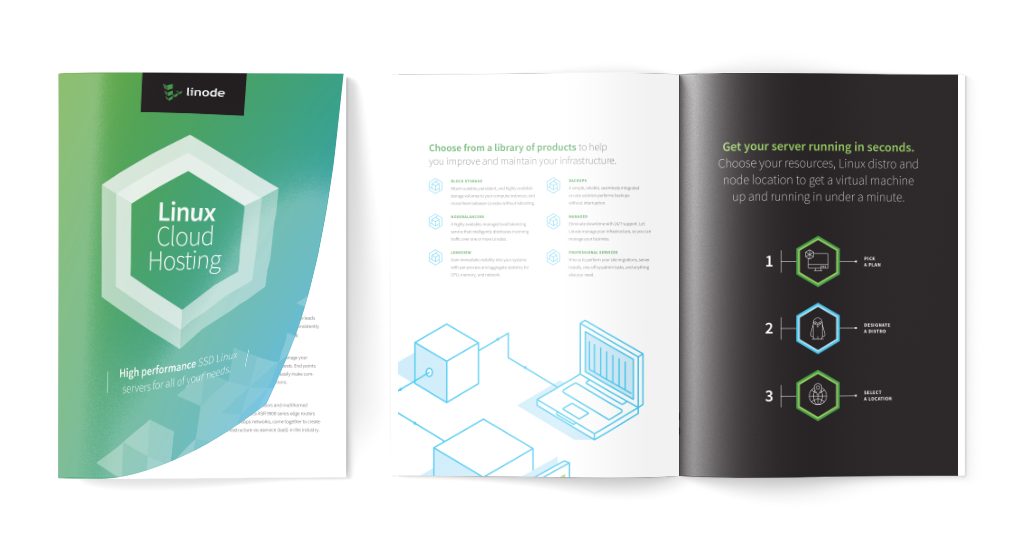 Whitepaper graphic design for a top Philadelphia-area technology company