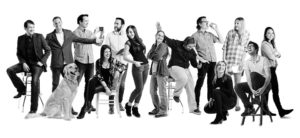 team photo of push10 branding agency