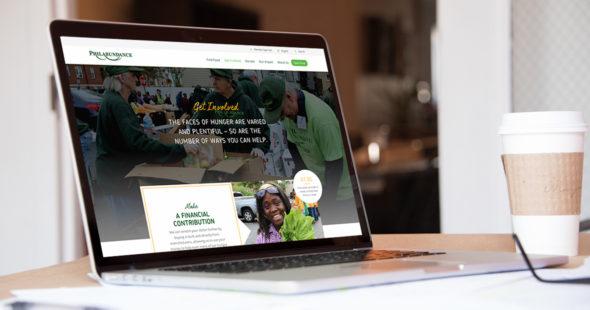 Website Design for Philadelphia based Nonprofit by Push10