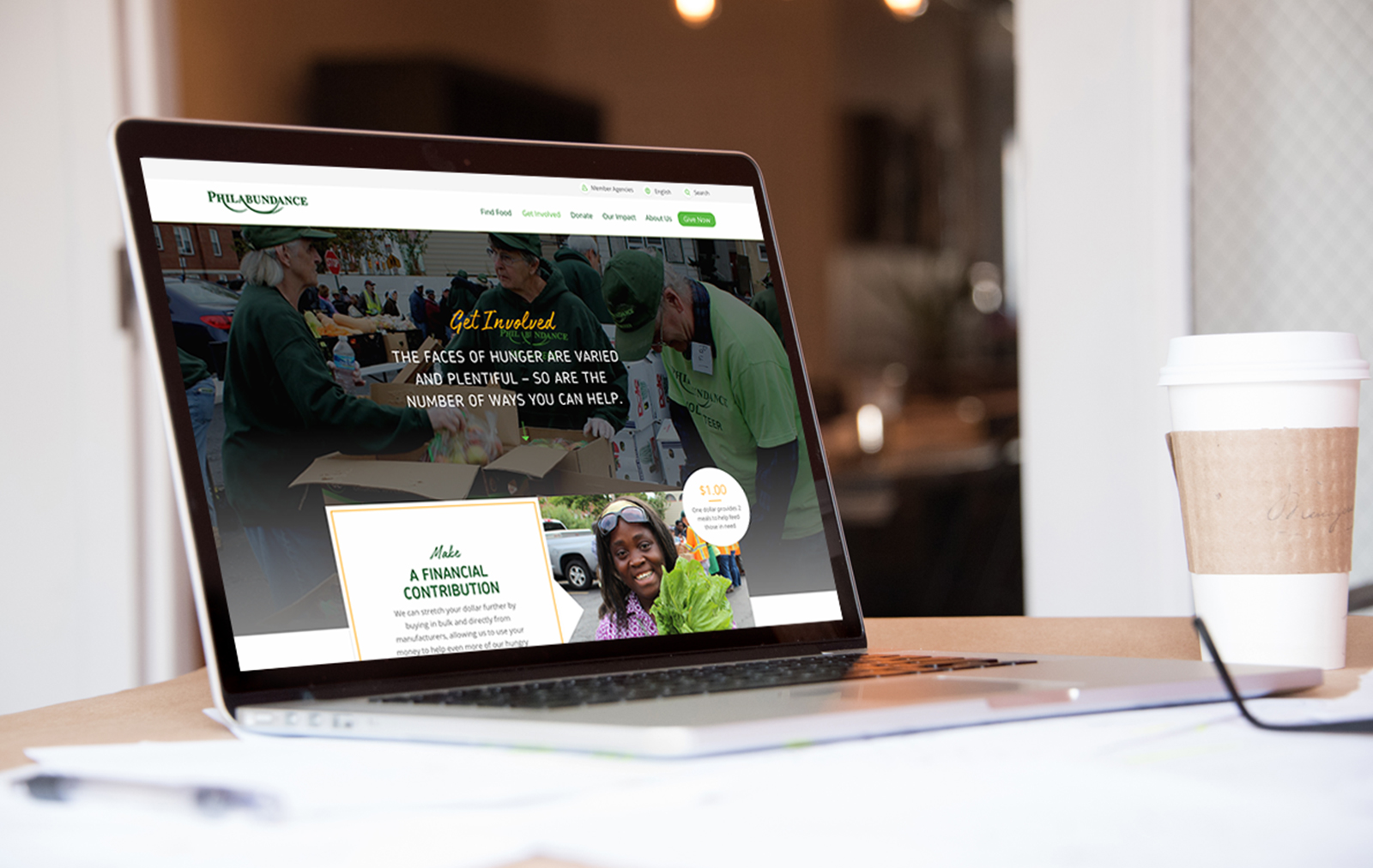 Website Design for Philadelphia based Nonprofit by Push10