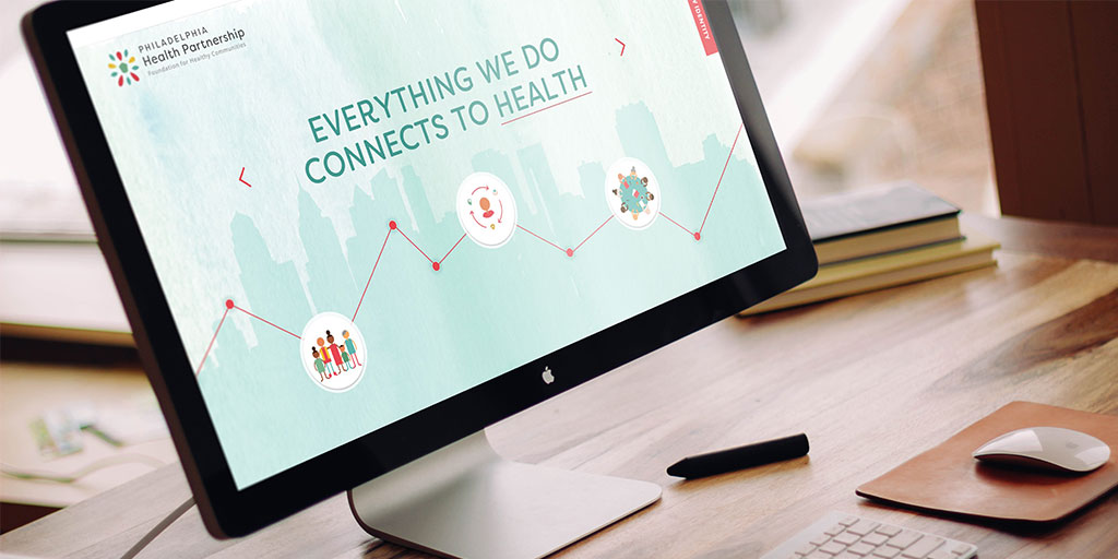 Branding for non-profit, Philadelphia Health Partnership