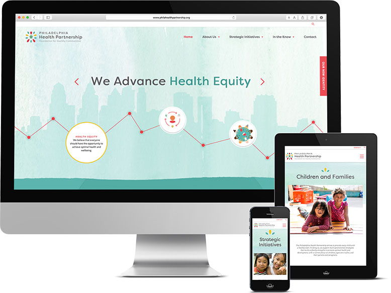 Responsive Devices for Philadelphia Health Partnership Non-Profit