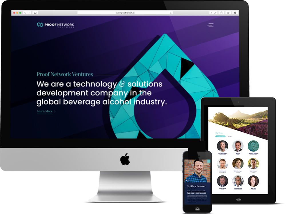 Responsive Web Design for a Philadelphia-area technology company