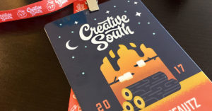 Badge from Creative South 2017