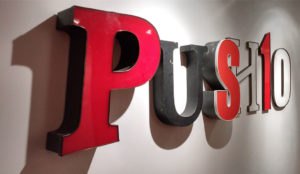 Push10, Wall Sign, Old City, Philadelphia