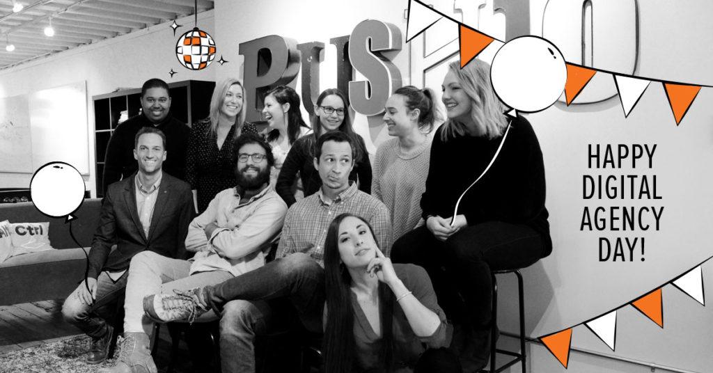 push10, push10 philadelphia, push10 digital marketing agency, digital agency day, history of advertising, advertising agency history