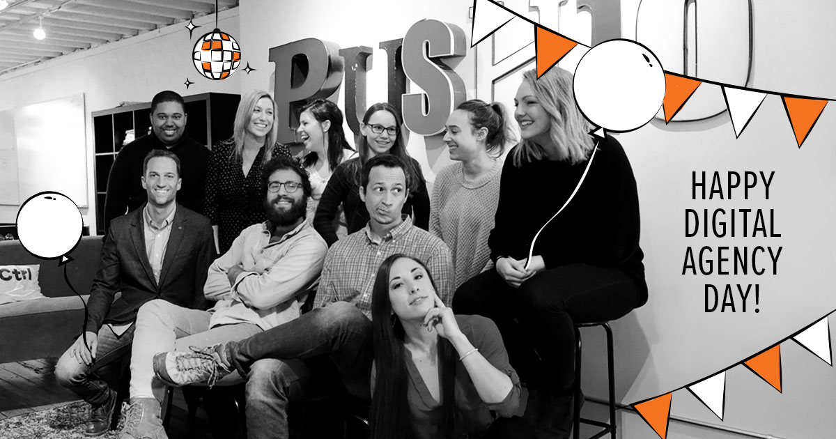 Push10 digital agency day philadelphia