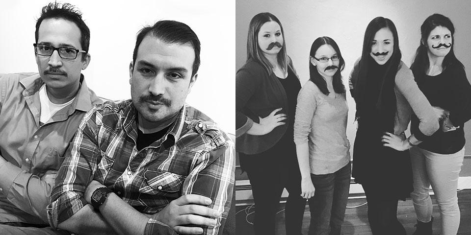 Push10 Design Movember 2015, Movember, Holidays, Push10, good deeds