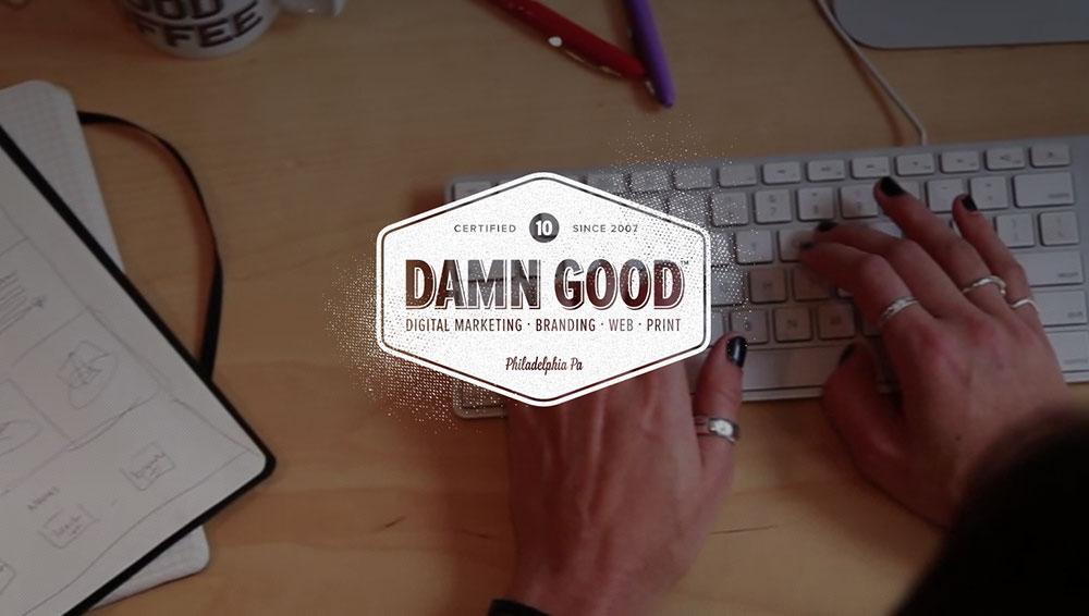 damn good, push10, push10 design, web design process, web design, web development, branding, philadelphia, video marketing