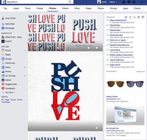 Push Love, push10 design, push10 pushlove, pushlove, facebook push10, philadelphia, love sign
