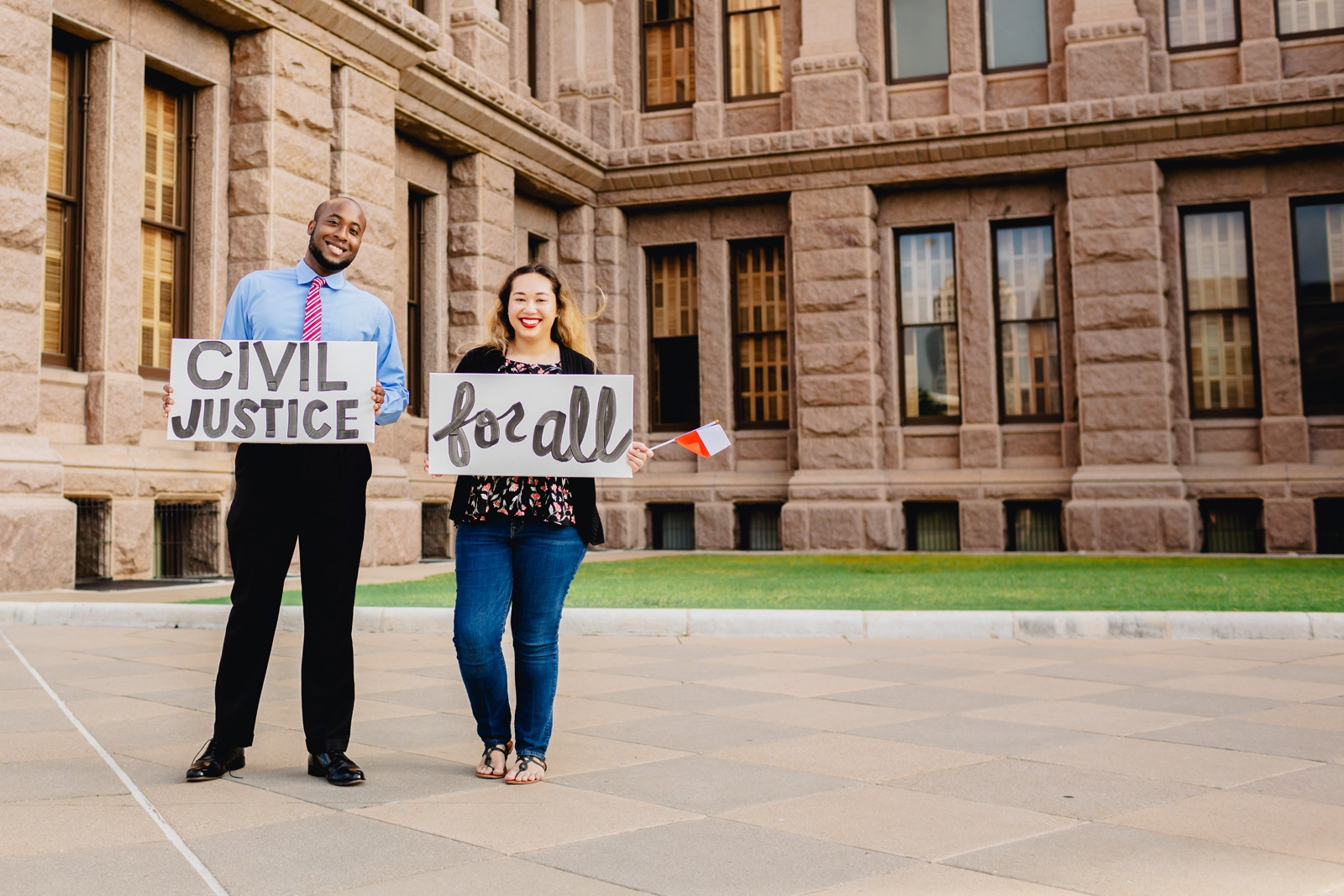 Texas Legal Services Branding Design