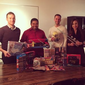 Push10 Design Toy Drive in Old City, push10, toy drive, good deeds