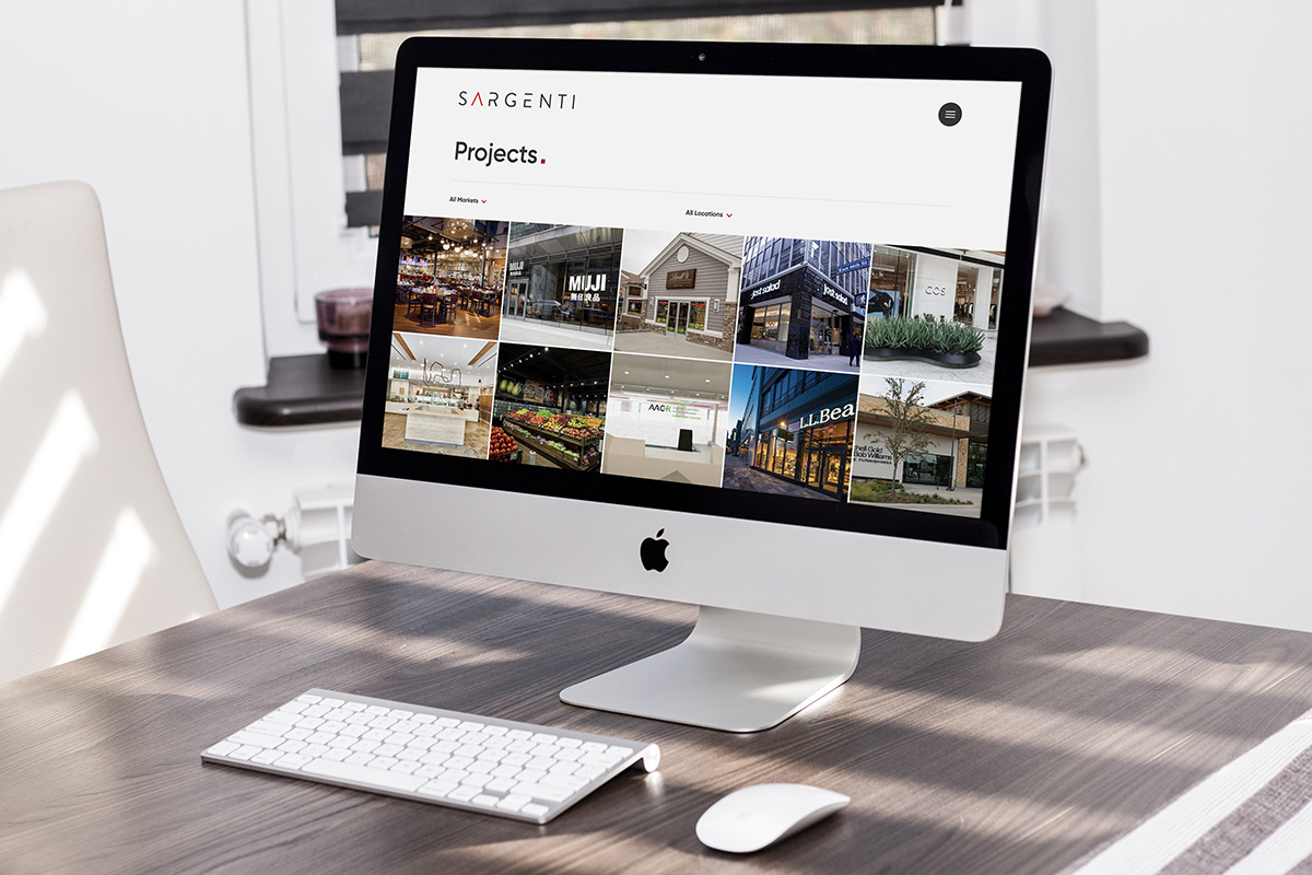 architecture web design projects