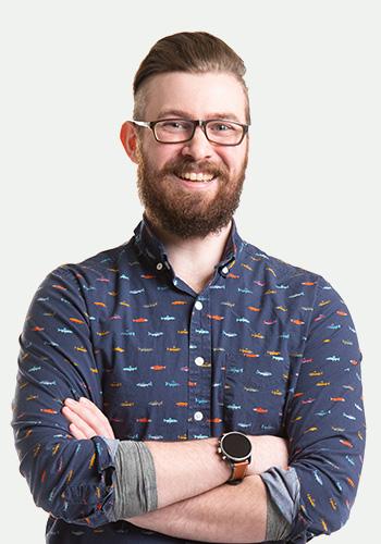 Sean Lyons, Web Developer, Push10