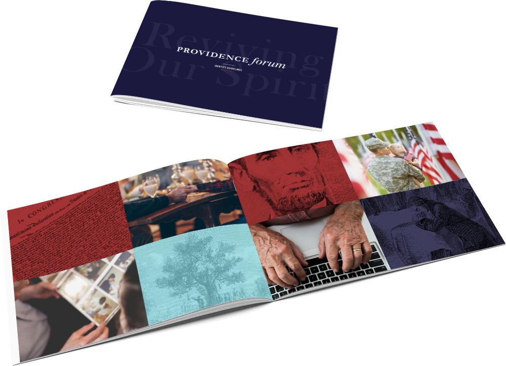 Brand Book for non-profit Providence Forum