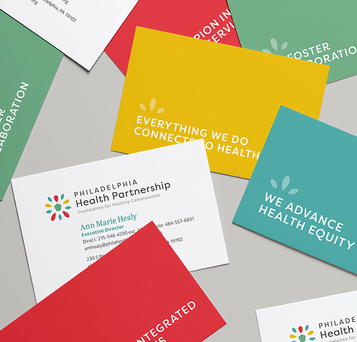 Brand identity for Philadelphia nonprofit