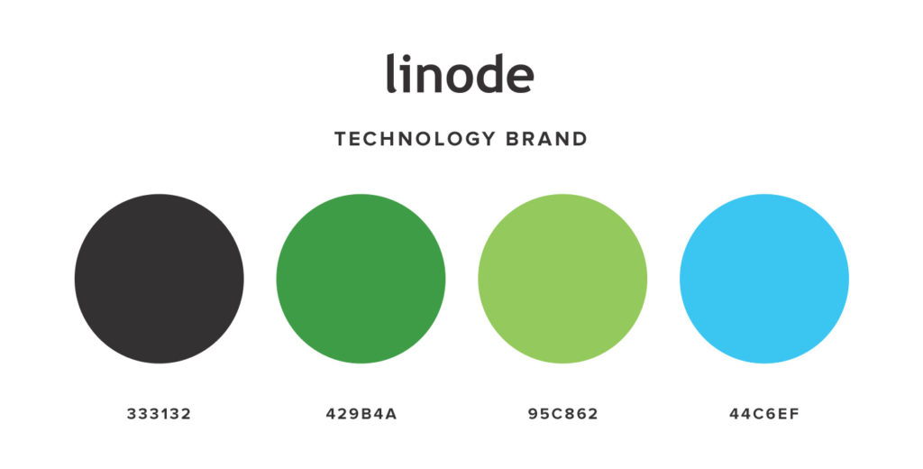 Technology Color Palette for Branding and Brand Strategy