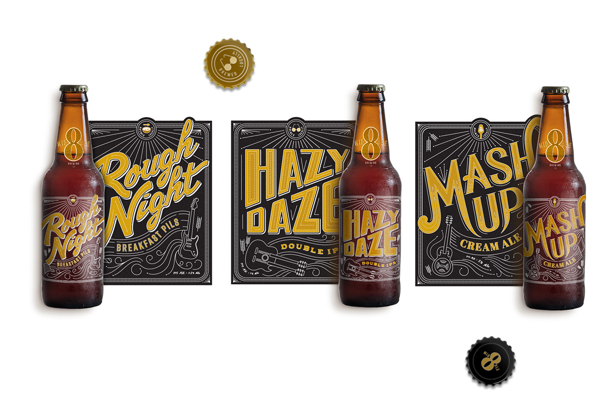 Beverage Packaging Design for Brewery
