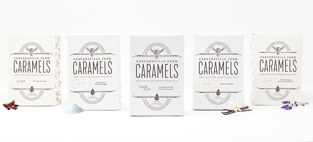 Packaging design for local nonprofit farm