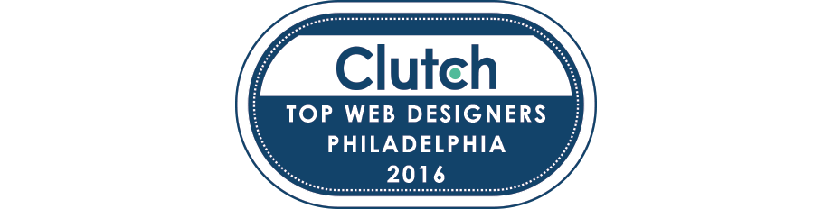Clutch recognizes push10 as leading web design agency in Philadelphia, philadelphia web agency