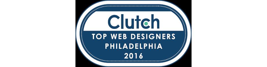 Clutch recognizes push10 as leading web design agency in Philadelphia, philadelphia web design agency