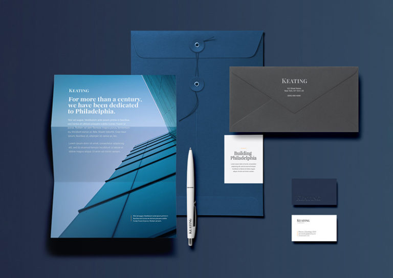 Stationery and Business Cards for a construction company