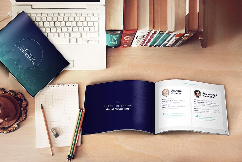 Branding, logo design, and corporate identity for John Templeton