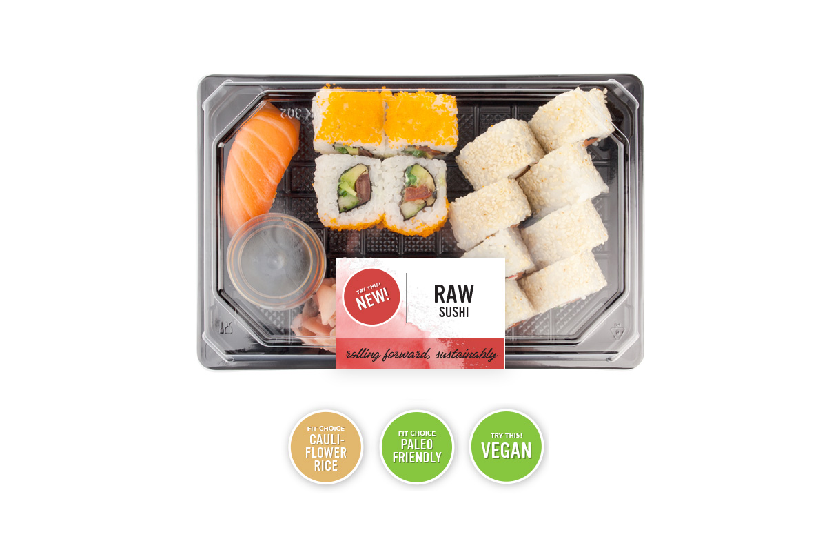 Sustainable Food Packaging for Sushi