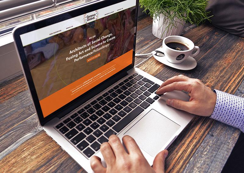 Website Design for Non-Profit in Philadelphia, non-profit website