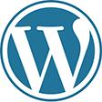 Wordpress logo design