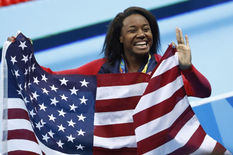 Black History month, olympic swimming