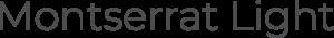 Lehigh University Website Typography Montserrat Light