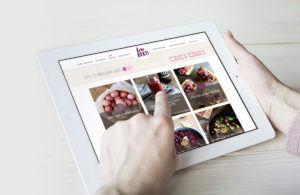 Recipe Website Design and Development for Philadelphia Organic Foods, love beets, push10, custom illustration, food marketing, web design
