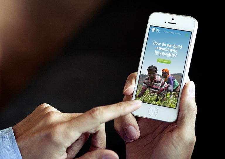 Responsive Mobile Website Design for Nonprofit Organization