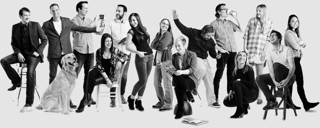 Team of Philadelphia Web Designers working at Push10 Branding Agency
