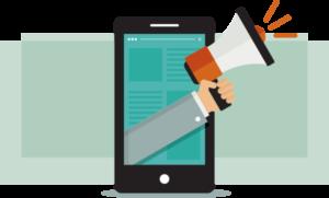 Custom marketing icon for website planning blog post
