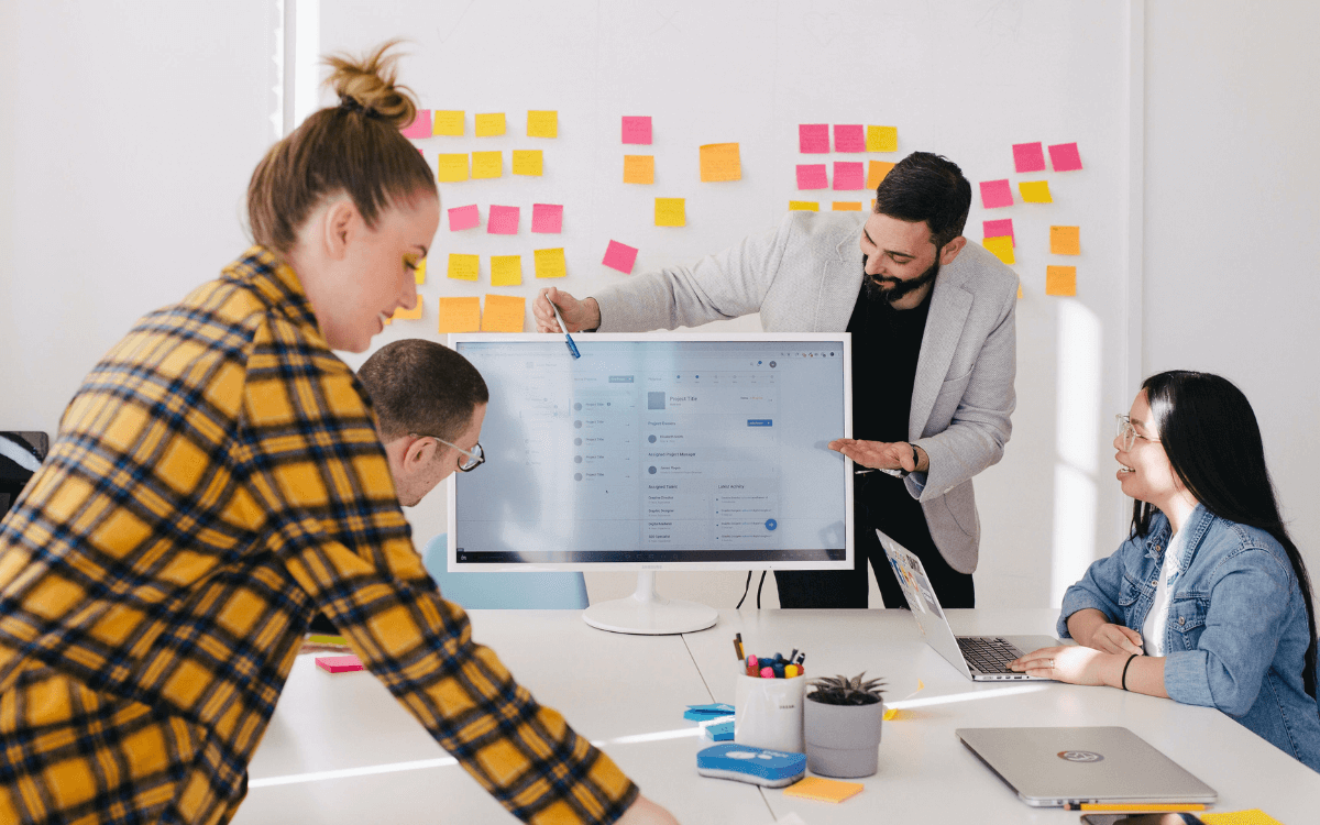 presenting design with a data focused approach